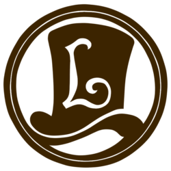 The logo for Professor Layton.