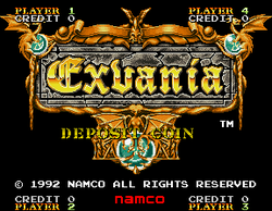Box artwork for Exvania.