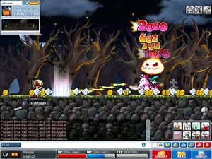 Maplestory halloween event 2012 ~ olivia haunted house guide youtube.