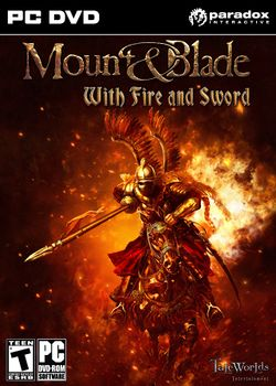 Box artwork for Mount&Blade: With Fire & Sword.