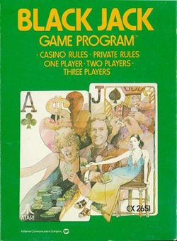 Box artwork for Blackjack.