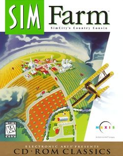Box artwork for SimFarm.