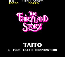 Box artwork for The Fairyland Story.