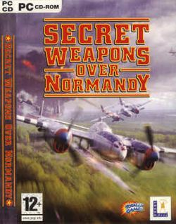 Box artwork for Secret Weapons over Normandy.