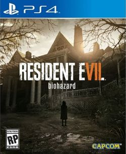 Box artwork for Resident Evil 7: Biohazard.