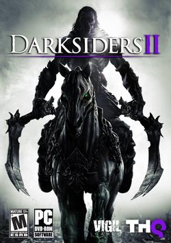 Box artwork for Darksiders II.