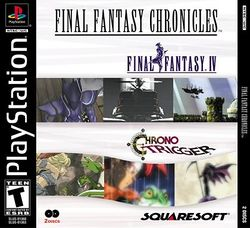 Box artwork for Final Fantasy Chronicles.