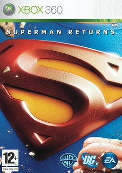 Box artwork for Superman Returns.