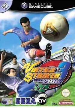 Box artwork for Virtua Striker 3.