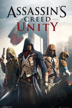 Box artwork for Assassin's Creed: Unity.