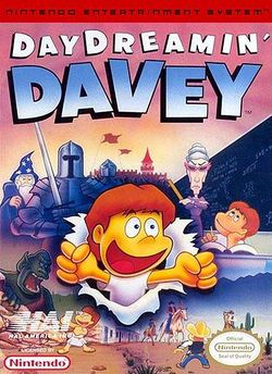 Box artwork for Day Dreamin' Davey.