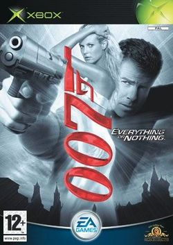 Box artwork for James Bond 007: Everything or Nothing.