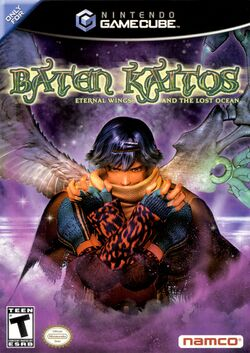 Box artwork for Baten Kaitos: Eternal Wings and the Lost Ocean.