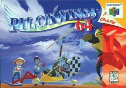 Box artwork for Pilotwings 64.
