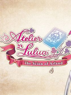 Box artwork for Atelier Lulua: The Scion of Arland.