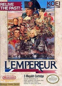 Box artwork for L'Empereur.