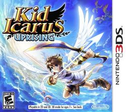 Box artwork for Kid Icarus: Uprising.