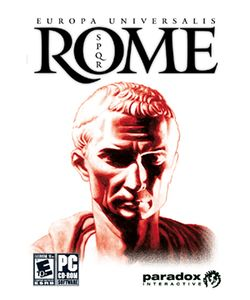 Box artwork for Europa Universalis: Rome.