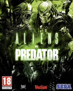 Box artwork for Aliens vs. Predator.