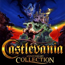 Box artwork for Castlevania Anniversary Collection.