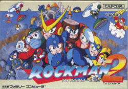 Box artwork for Mega Man 2.