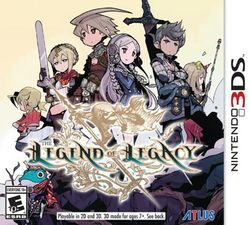 Box artwork for The Legend of Legacy.