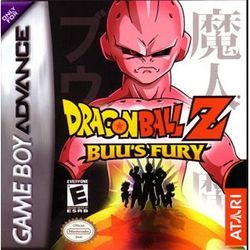 Box artwork for Dragon Ball Z: Buu's Fury.