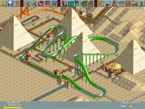 RollerCoaster Tycoon/Pacific Pyramids — StrategyWiki, the
