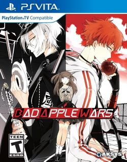 Box artwork for Bad Apple Wars.