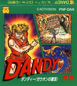 Box artwork for Dandy: Zeuon No Fukkatsu.
