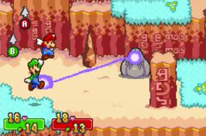 Mario Luigi Superstar Saga Hoohoo Mountain Strategywiki