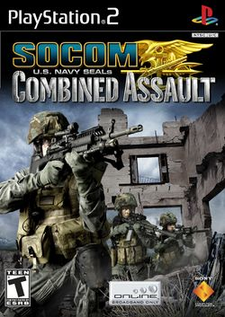 Box artwork for SOCOM: U.S. Navy SEALs Combined Assault.