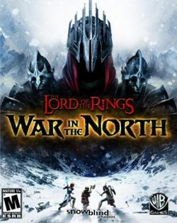Box artwork for The Lord of the Rings: War in the North.