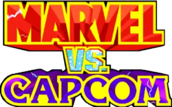 The logo for Marvel vs. Capcom.