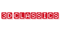 The logo for 3D Classics.