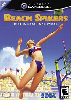 Box artwork for Beach Spikers.