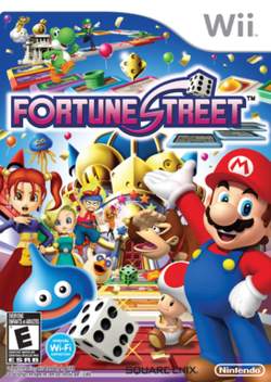 Box artwork for Fortune Street.