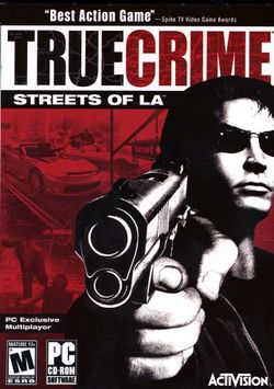 Box artwork for True Crime: Streets of LA.
