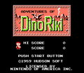 Dino Riki NES title.png