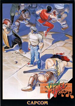 Box artwork for Final Fight.