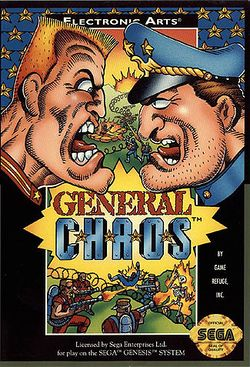 Box artwork for General Chaos.