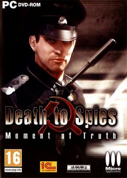Box artwork for Death to Spies: Moment of Truth.