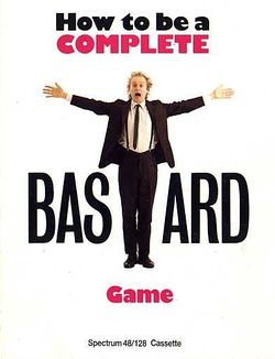 Box artwork for How to Be a Complete Bastard.