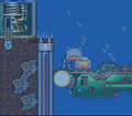 Mega Man X Launch Octo Destroyed Ship.png