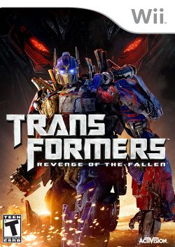 Box artwork for Transformers: Revenge of the Fallen.