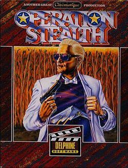 Box artwork for Operation Stealth.