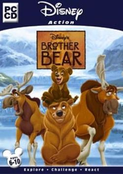 Box artwork for Brother Bear.