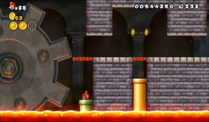New Super Mario Bros Wii World 1 Castle Strategywiki The Video