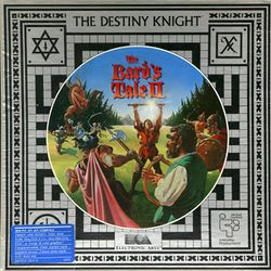 Box artwork for The Bard's Tale II: The Destiny Knight.