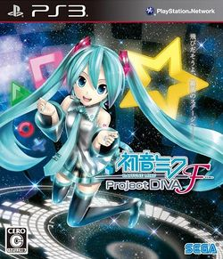 Box artwork for Hatsune Miku: Project DIVA F.